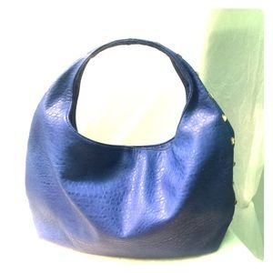Neiman Marcus Royal Blue Hobo Bag